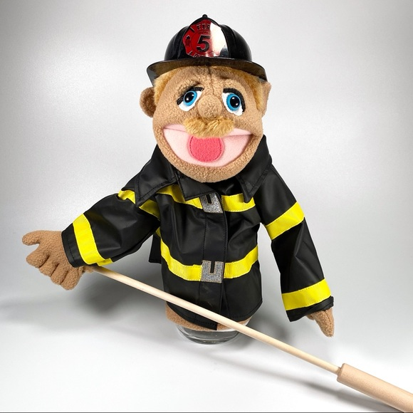 Melissa & Dough Firefighter Puppet
